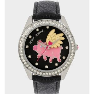 NIB BETSEY JOHNSON When Pigs Fly! Watch! TOO CUTE